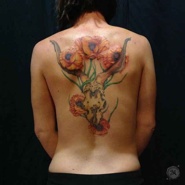 - Georgia O'Keeffe  - tattoo