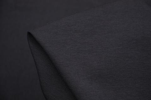 Black96% cotton 4% spandex stretch heavy cotton knit. Width:155cm…