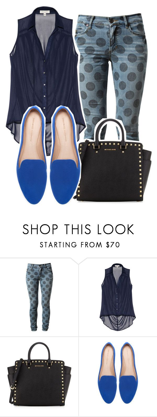 """Bless your soul, you've got your head in the clouds~"" by style-police ❤ liked on Polyvore featuring House of Holland, Vince Camuto, MICHAEL Michael Kors and Zara"