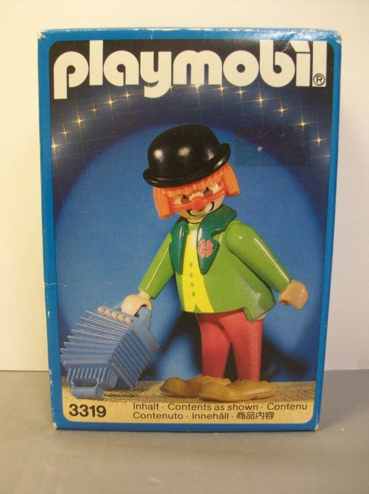 Playmobil System 3319 Circus Clown New Unopened 1987 Vintage #PLAYMOBIL