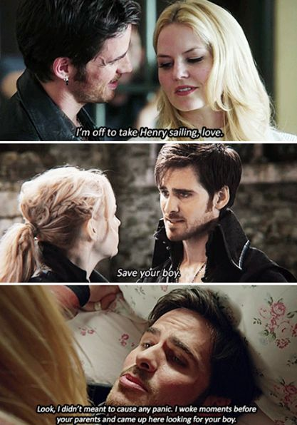 swan what did you do killian jones - Google Search