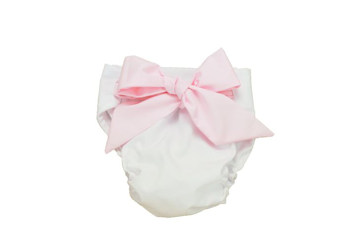 Worth Avenue White and Plantation Pink Bow