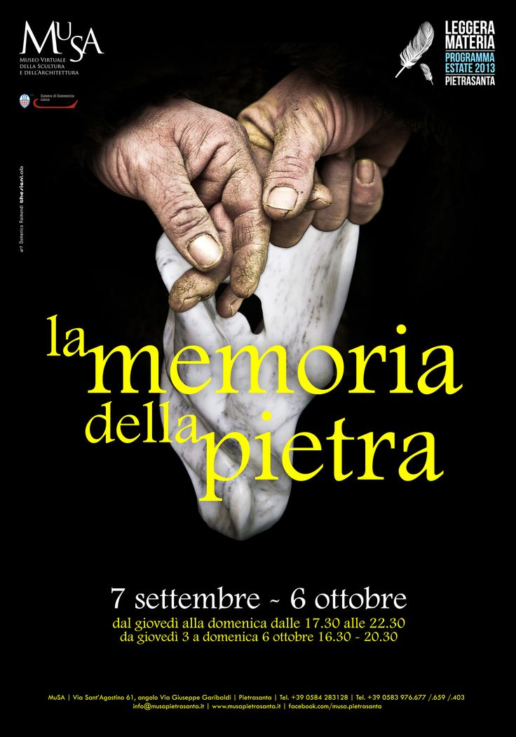 """""""La memoria della pietra"""" - adv - art: Domenico Raimondi @thesignLab"""