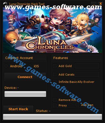 Luna Chronicles Hack Tool