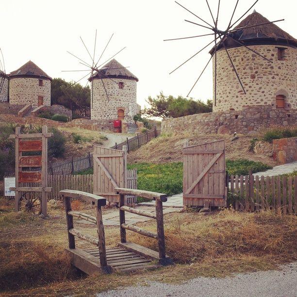 Lemnos, Lemnos, Greece - Windmills of Lemnos