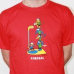 Exclusive kukuxumusu korfbal t-shirt $23