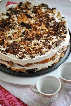 Daddy Cool!: Θεϊκή τούρτα πραλίνα φουντουκιού! Θα σαρώσει!:
