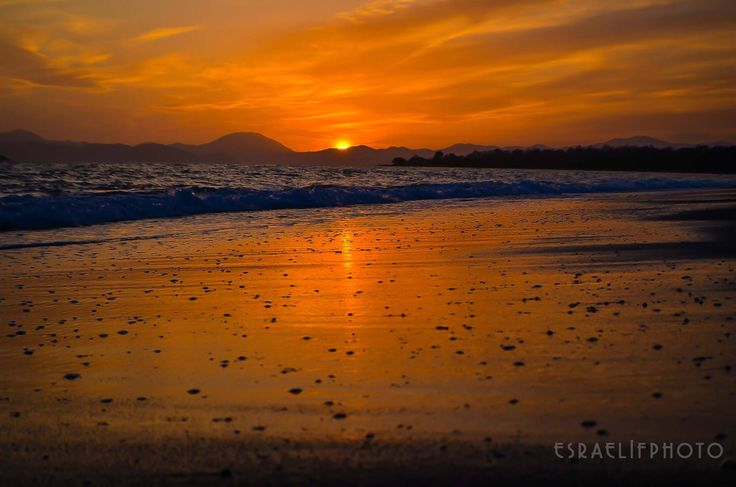 Sunset in #Calis beach, what can be more amazing? :-)