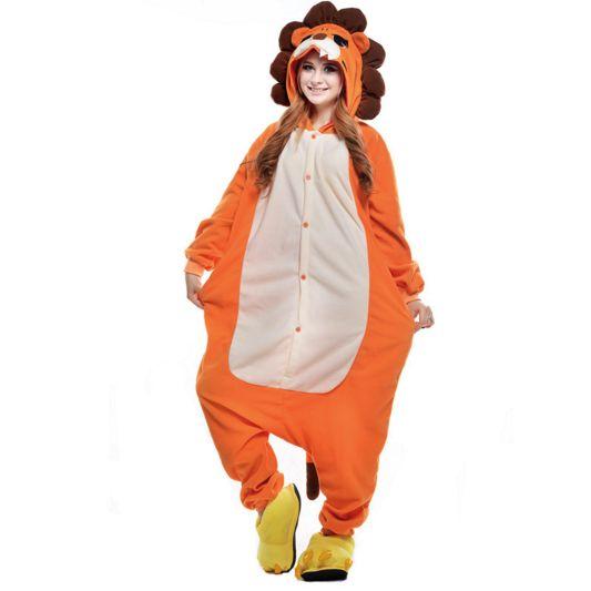 Lion Pajama Onesie