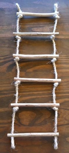 DIY! Beaded Rope Ladder Instructions! (lots of pictures ...