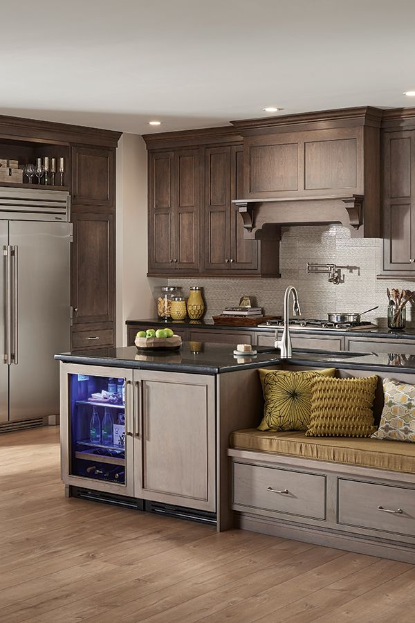 From Modern To Traditional Your Kitchen Design Should Make You Feel At Home Click To Find A Fieldstone Dealer Kitchen Remodel Kitchen Design Custom Cabinetry