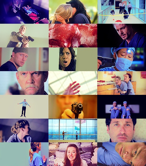 Grey's Anatomy Season 6 finale. One of the most intense season finales ever.