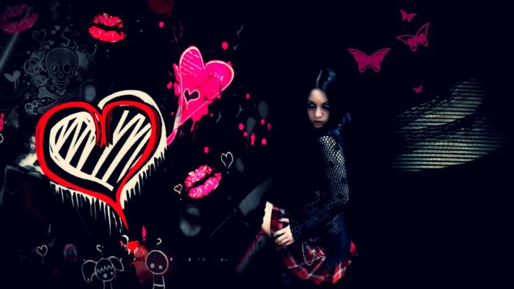 Emo Girl Wallpaper 1920×1080 Emo Girl Wallpaper (23 Wallpapers) | Adorable Wallpapers