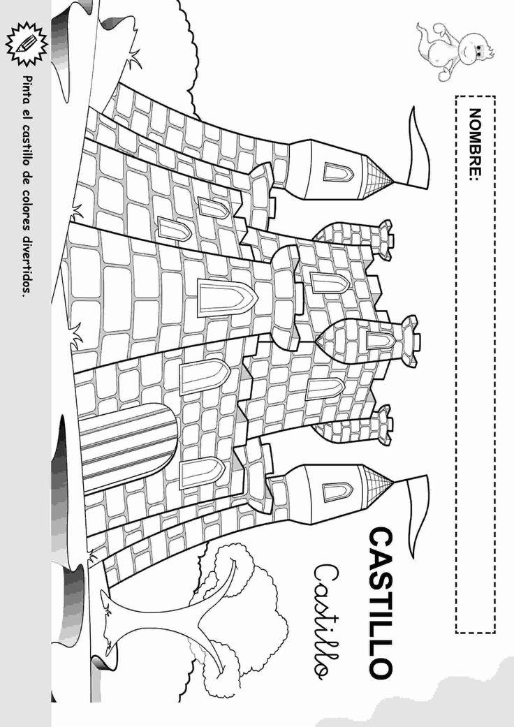 Actividades para niños preescolar, primaria e inicial. Fichas educativas para imprimir destinadas a niños de preescolar y primaria con objetos y su nombre. Objetos con nombre para colorear. 5