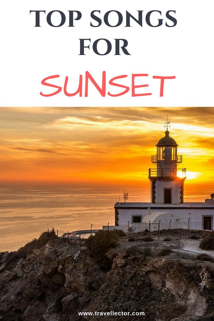 Top Songs for Sunset | Travellector #sunset #songs
