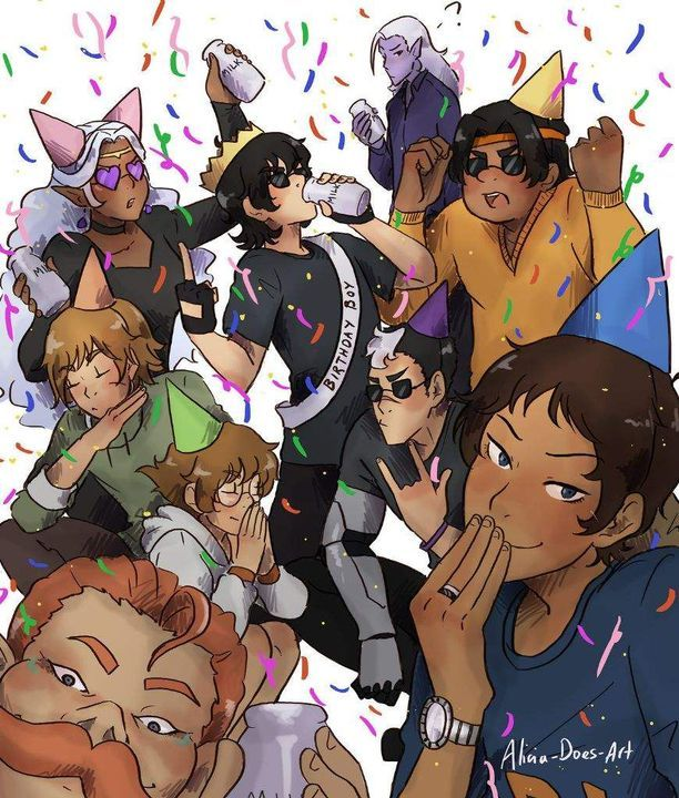 19669d15fd1 Klance Fluff & Mature (Plus General) Pictures and Comics - Happy Birthday  Keithy boi!!! - Page 2 - Wattpad