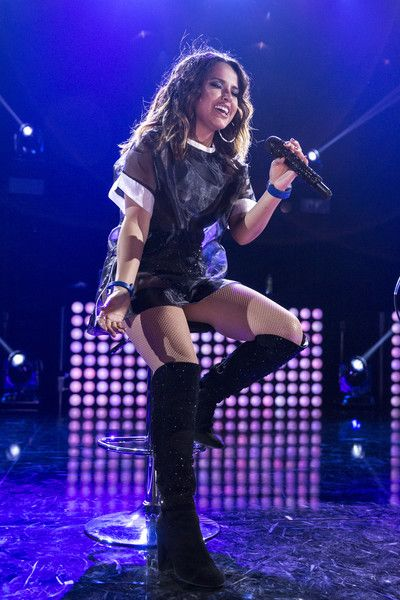 Rebecca Marie Gomez Photos Photos - Becky G performs on stage at iHeartRadio LIVE Move with the music powered by Degree with Becky G at iHeartRadio Theater on April 18, 2016 in Burbank, California. - iHeartRadio LIVE Move With The Music Powered By Degree With Becky G