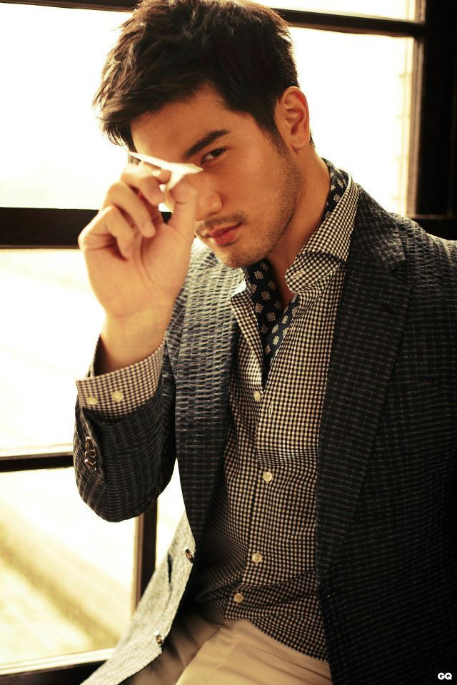 Godfrey Gao in GQ Taiwan (March 2013)   In love with this handsome guy!