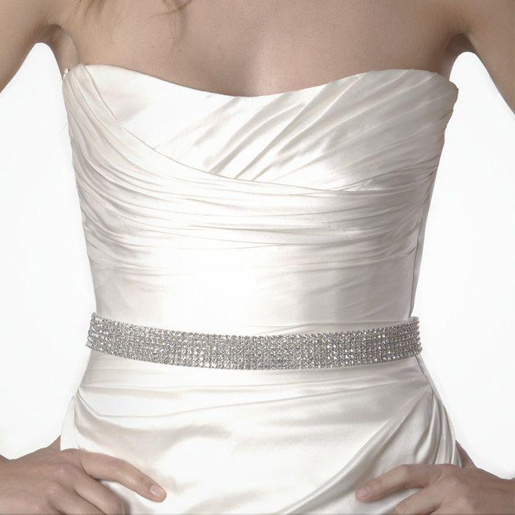 30 best wedding accessories images on pinterest short for Wedding dress accessories belt