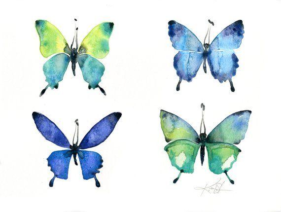 f27571030c2 Four Butterflies