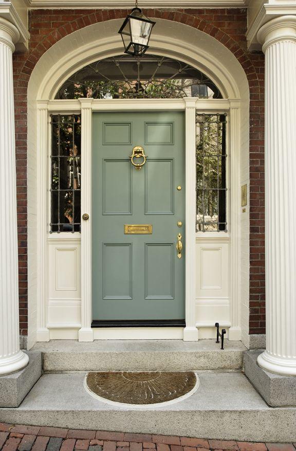 Green Front Door green front doors - google search | front doors | pinterest