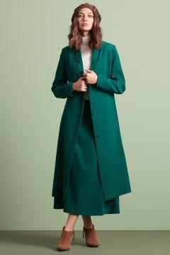 Kuaybe Gider Kadın Yeşil Sekuler Kaban 7046.12.36 https://modasto.com/kuaybe-ve-gider/kadin-dis-giyim/br5278ct54