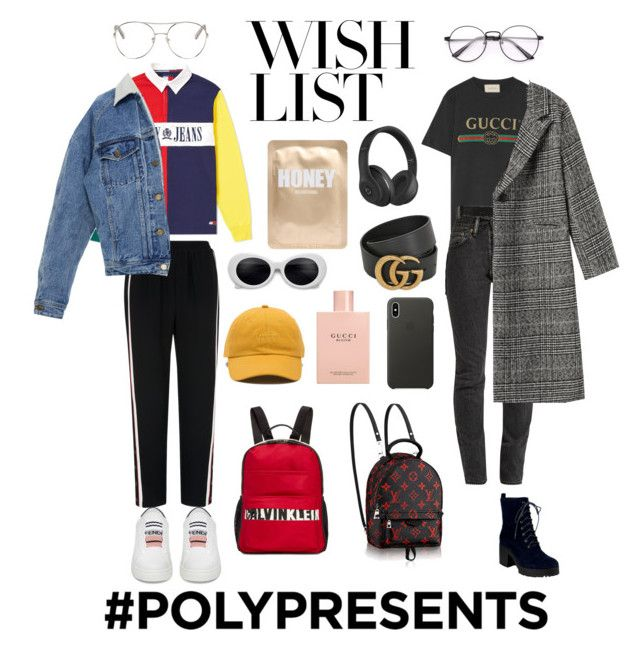 """""""#PolyPresents: Wish List 😩😤"""" by trishsa on Polyvore featuring Tommy Hilfiger, Whistles, Fendi, Gucci, Vetements, Chloé, Calvin Klein, Vans, Apple and Lapcos"""