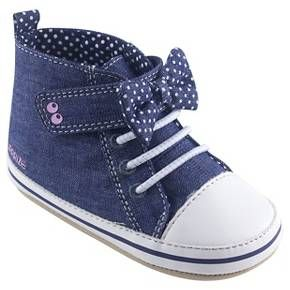 Baby Girls' Surprize by Stride Rite® Maddie High Top Sneaker Soft Sole Shoes - Blue : Target
