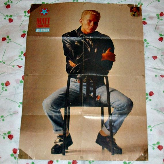 Matt Goss From Bros & Michael J Fox Double by WelshGoatVintage - SOLD OUT