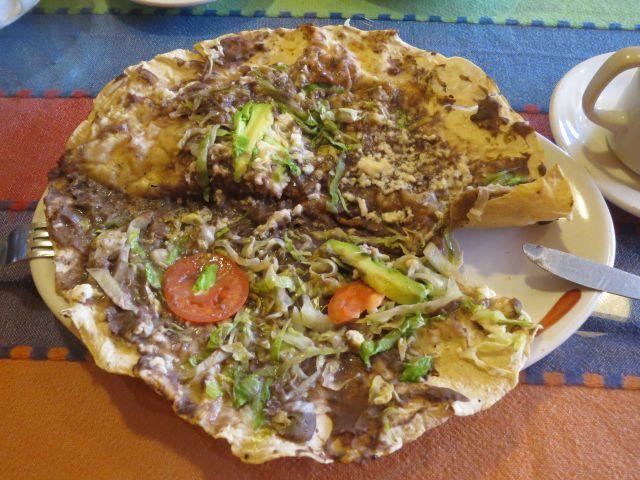 Las Deliciosas Tlayudas Oaxaqueñas.