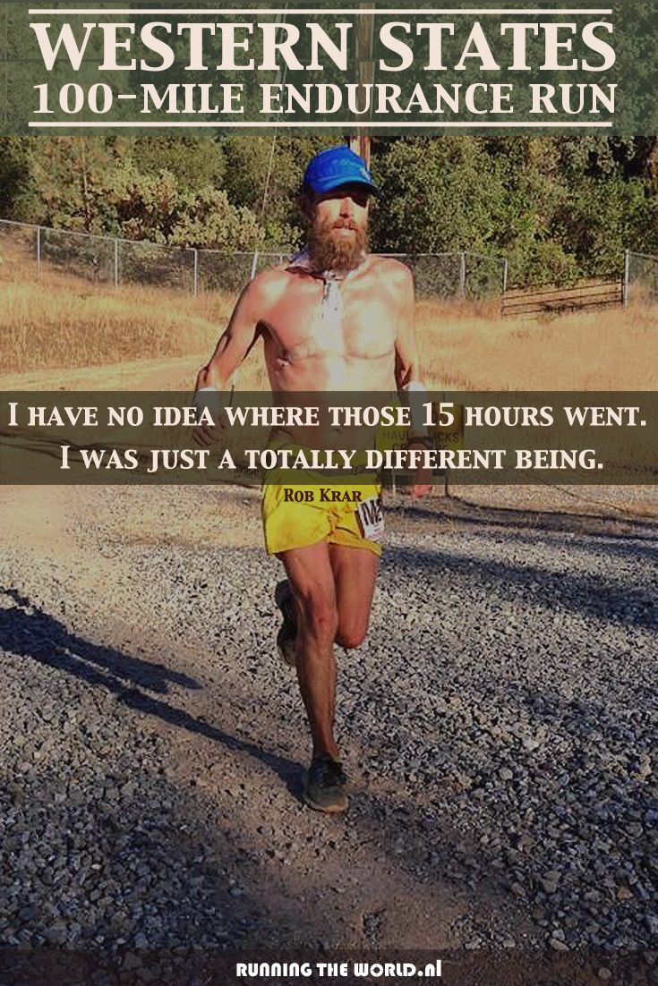 ULTRA TRAIL RUNNING TIPS FROM THE PRO'S who finished the oldest 100 Mile Trail Race in the world #WS100 #WSER http://www.runningyourlife.nl/training-tips-pros/ Picture: Rob Krar, Winner #WSER 2014; source: IRunFar.com