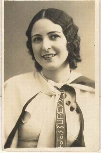 Keriman Halis - Turquia  MISS UNIVERSO 1932