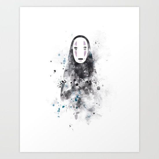 #miyazaki #artprint #noface