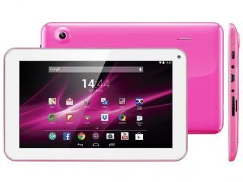"Tablet Multilaser M9 8GB 9"" Wi-Fi Android 4.4 - Proc. Quad Core Câmera Integrada"
