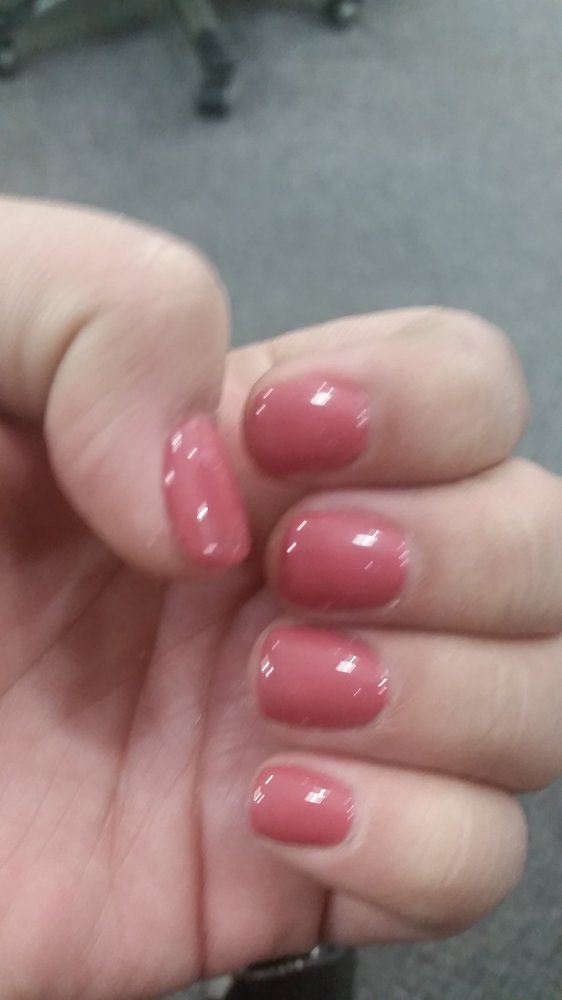 Essential Nails - San Diego, CA, United States. Acrylic overlay (no tips
