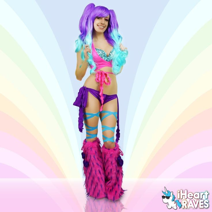 creative cute rave outfit 17