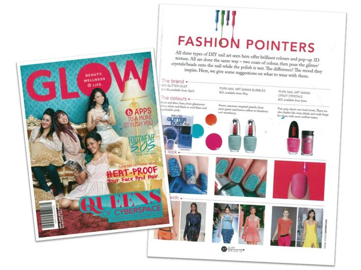 Our DIY Nail Art Kit gets the spotlight with Crazy Crystals and Bubbles along with fashion tips.