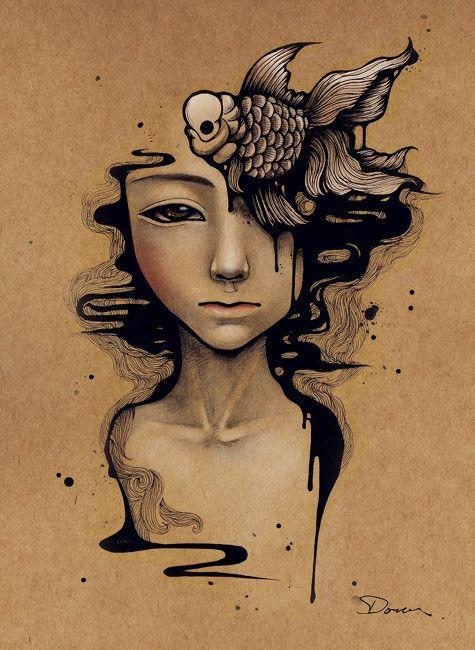 : Books Covers, Drawings Artists, Artworks Karla, Sketch Artworks, Dous Work, Digital Art, Art Drawings, Originals Artworks, Artists Reference