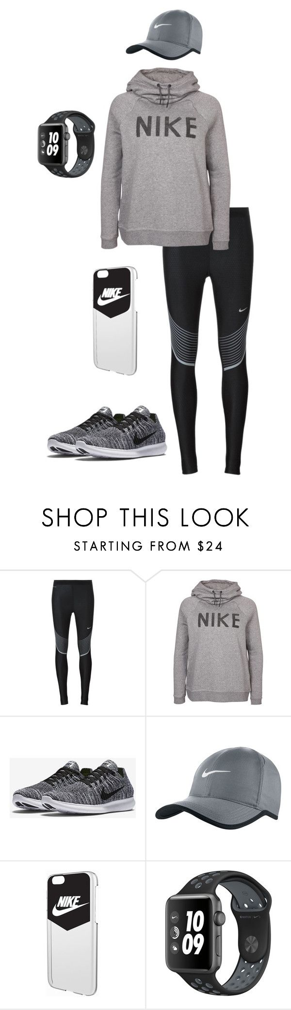 nike #2 by zinnt on Polyvore featuring NIKE