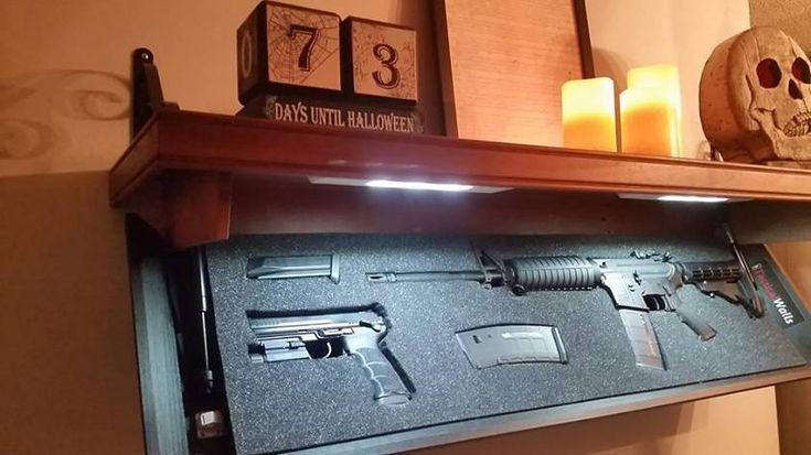 1000 Ideas About Gun Hiding Places On Pinterest Secret