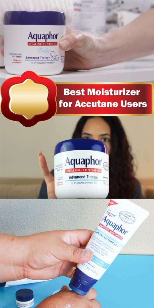 Best Moisturizer for Accutane Users