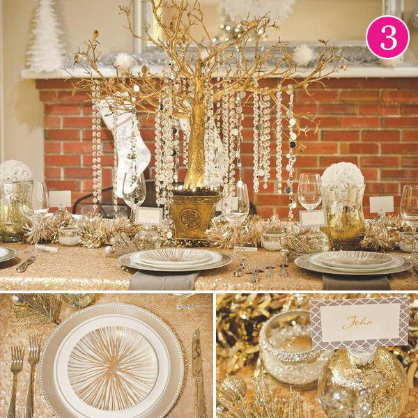 {Party of 5} Winter Woodland, Bright & Merry, Glam Holiday, Christmas Wedding & Hanukkah Treats