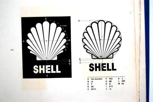 Shell vintage logo