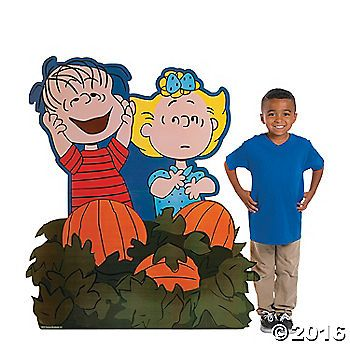 its the great pumpkin charlie brown add this stand up to - Halloween Supplies