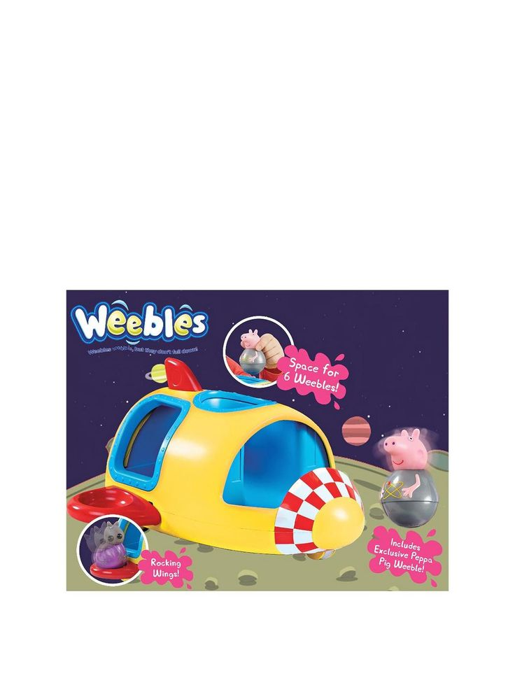 Weebles Wobbly Rocket, http://www.littlewoodsireland.ie/peppa-pig-weebles-wobbly-rocket/1406949314.prd