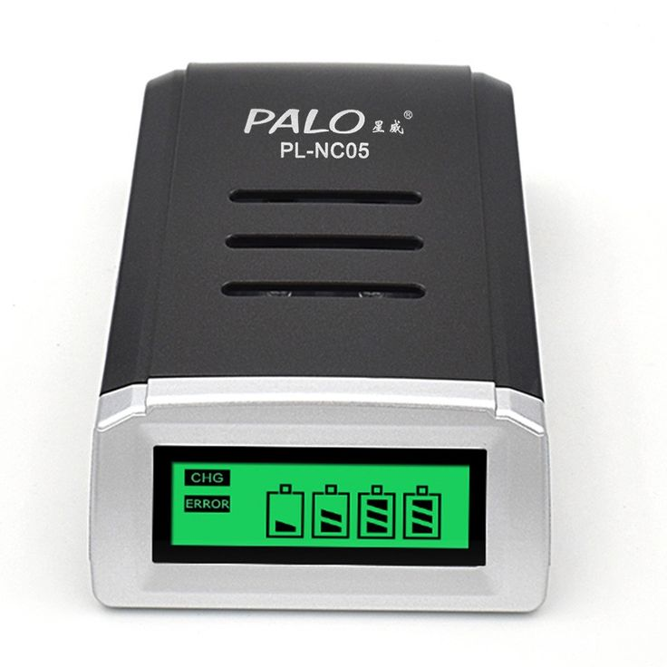 PALO Battery Charger for AA/AAA Ni-MH/Ni-Cd Rechargeable Sales Online eu - Tomtop.com