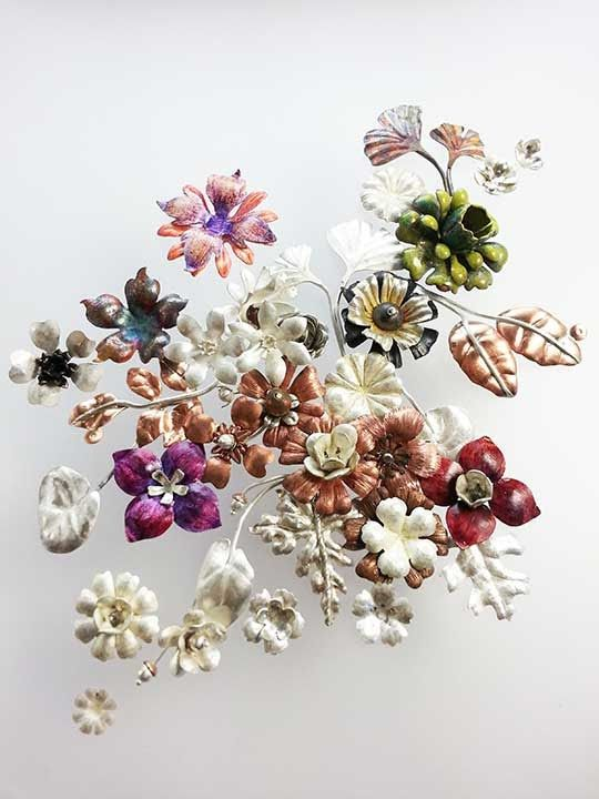 How to Make Metal Flowers, Part: 1 - Come fare fiori di metallo parte 1