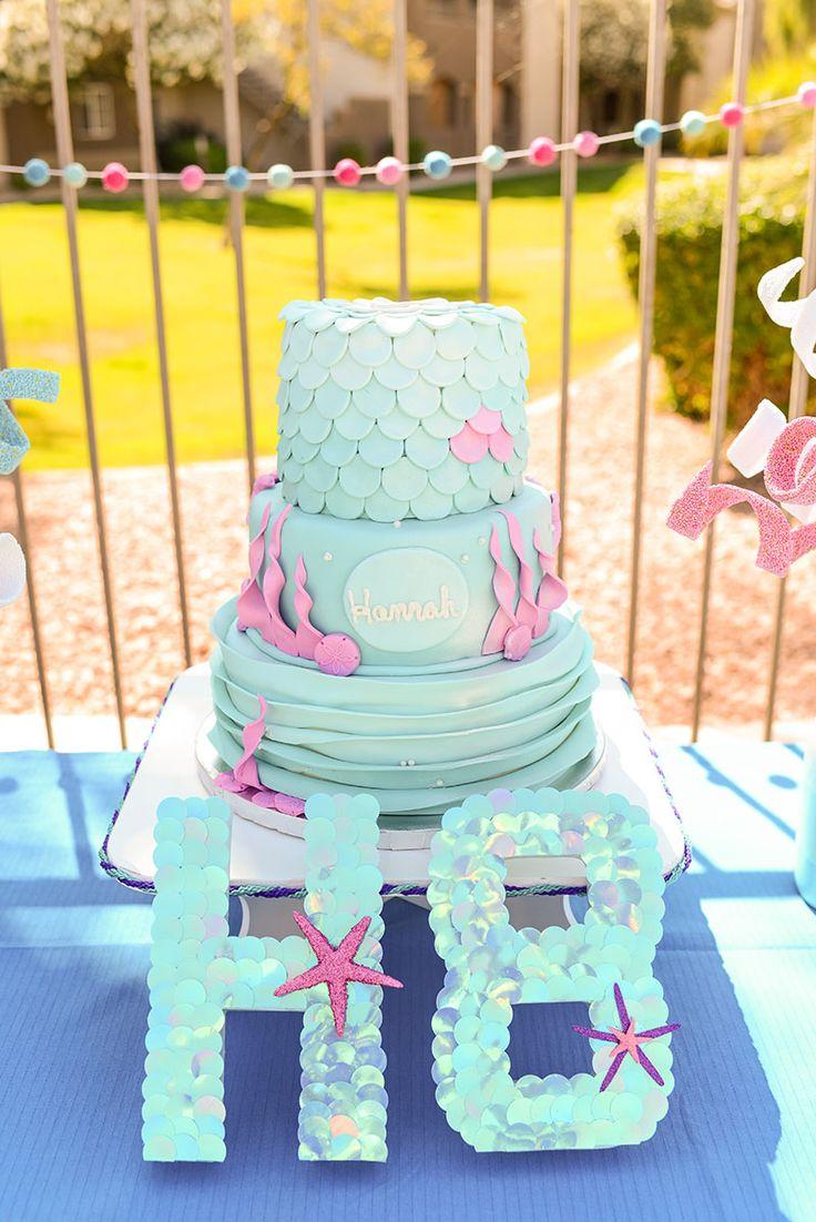 46 best Mermaid Birthday images on Pinterest | Mermaid parties ...