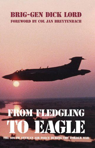 From Fledgling to Eagle: The South African Air Force during the Border War. Pages: 544. From Fledgling to Eagle chronicles the evolution of the SAAF in the 'Border War' that raged in Angola and South West Africa (Namibia) from 1966 to 1989, covering all the major South African Defence Force (SADF) operations from Ongulumbashe to the 'April Fools' Day war' in 1989. He returned to South Africa in early '70s and joined the South African Air Force (SAAF), flying Impalas,...