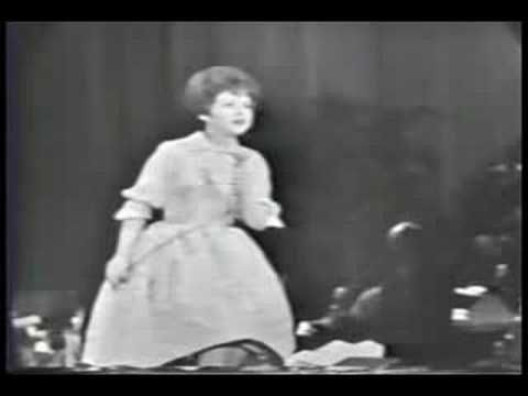 """Brenda Lee - """"All Alone Am I"""" ... this is a live performance of Brenda...she was so tiny & pretty...Love this song!"""